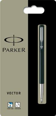 Parker  Vector Classic Stainless Steel Chiseled  Fountain Pen Med Pt New In Box