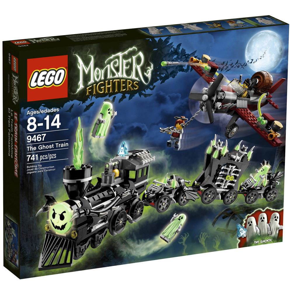 Fighters 9467 Monster The Lego Train Ghost 08vmNOynw