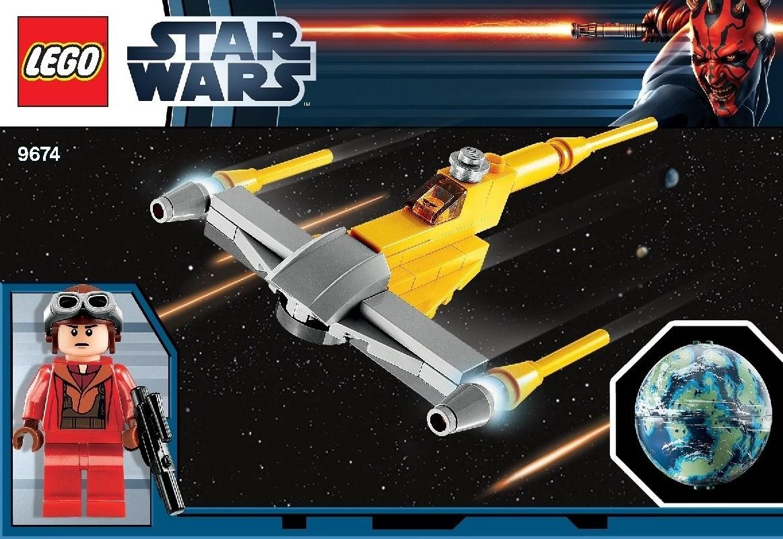 LEGO?? Star Wars Naboo Starfighter & Naboo - 9674