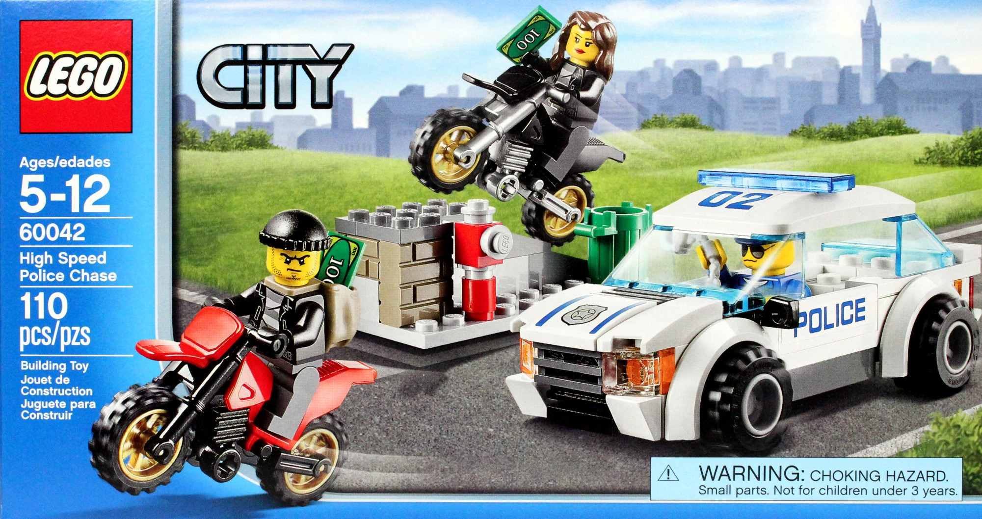 60042High Chase Lego City Police Speed WDH9IeYE2b