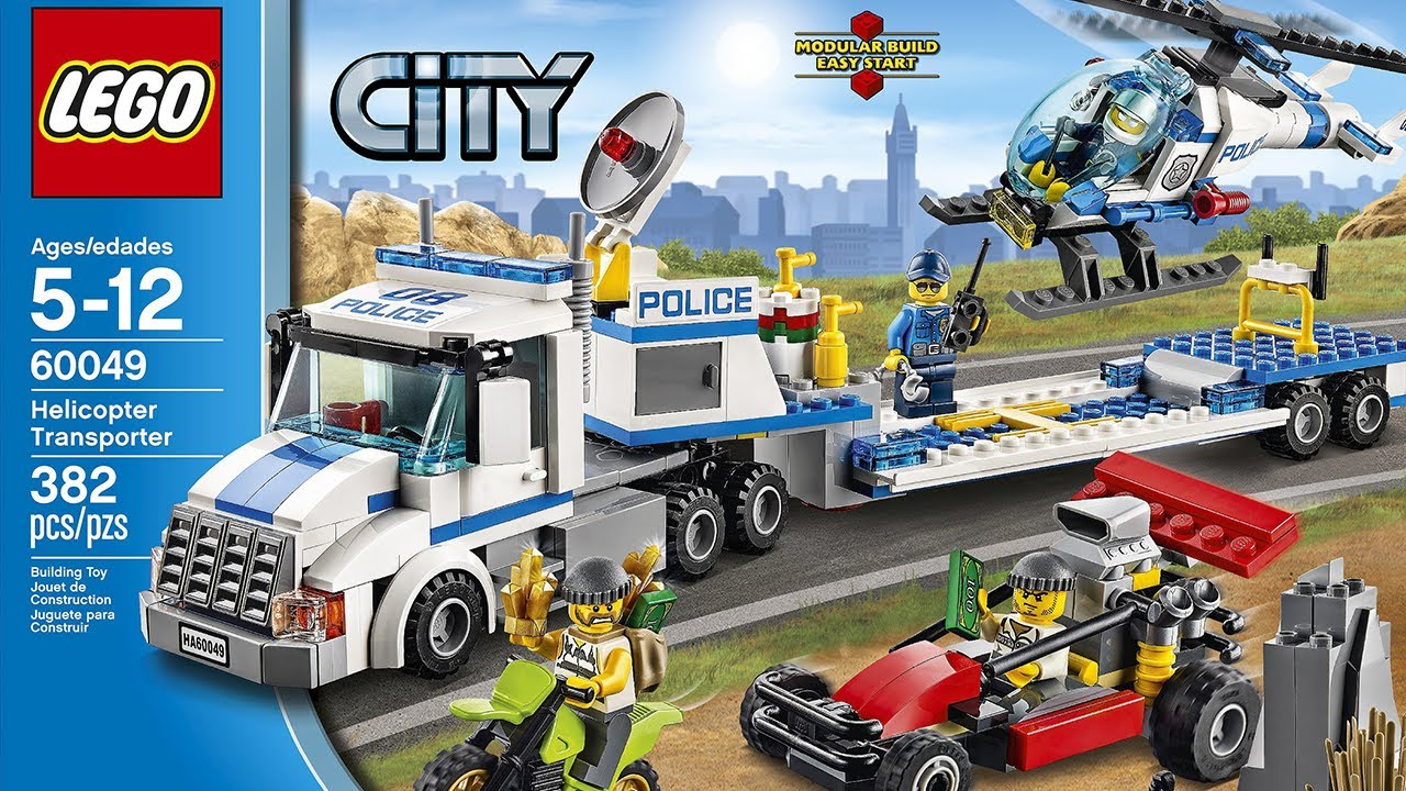 lego city 60049 helicopter transporter. Black Bedroom Furniture Sets. Home Design Ideas