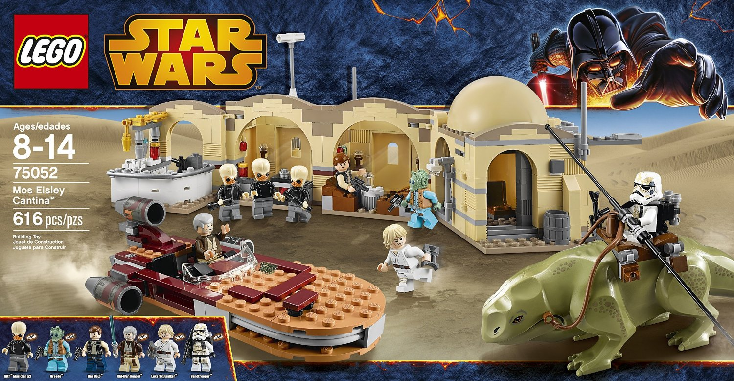 Lego star wars 75052 mos eisley cantina for The menu moss eisley canape