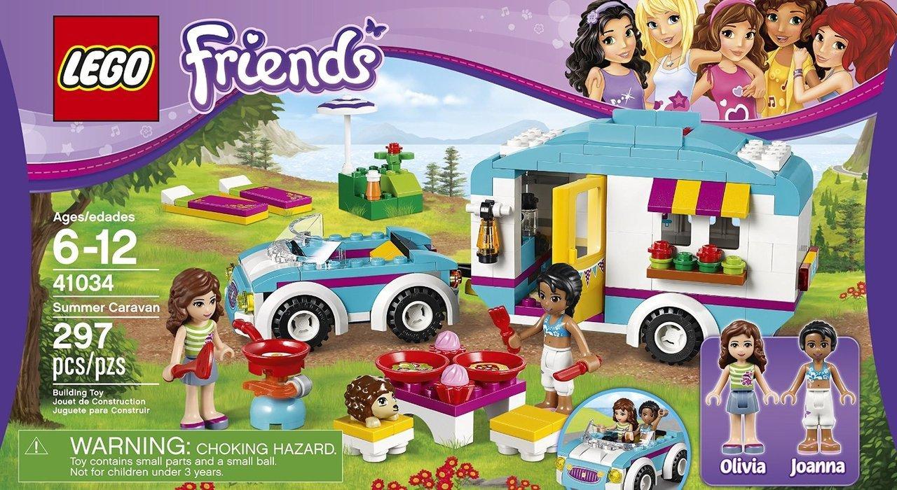 Lego Friends 41034 Summer Caravan