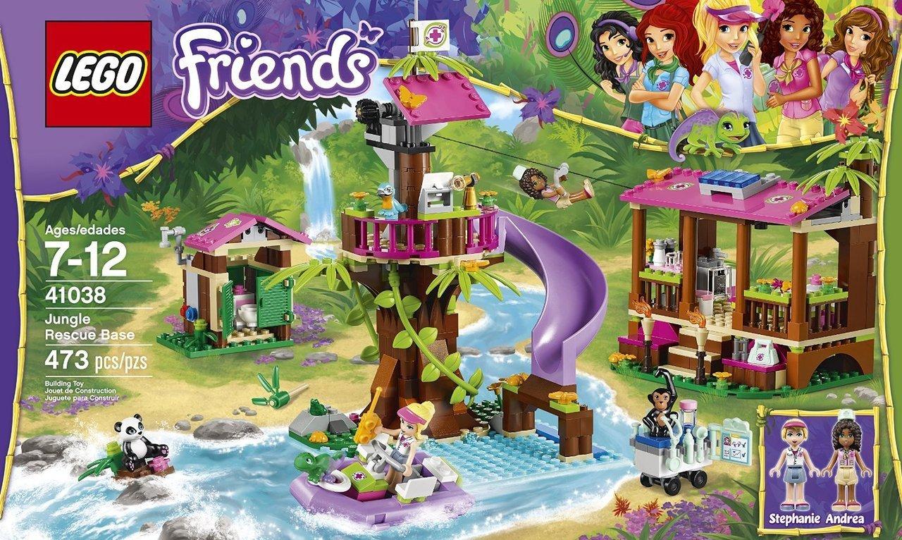 Lego Friends Mystery Jungle Paradise 41038