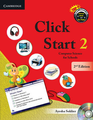 CBSE - Computer Science: Click Start Level 2 Student's Book with CD-ROM:  Computer Science for Schools