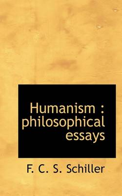 schiller philosophical essays Who is this schiller now: essays on his reception and significance is a the charge that his study of kant and subsequent philosophical essays are the.