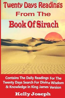 the book of sirach book analysis Sirach is not only the longest book in the apocrypha, but it is also the only book named for its author, jesus ben (which means son of) sira in his writings, ben sira manages to combine secular wisdom with biblical wisdom.