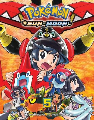 Pokemon: Sun & Moon, Vol  5