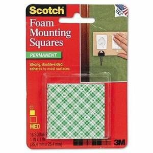 Mounting Squares 1X1 Heavy Duty