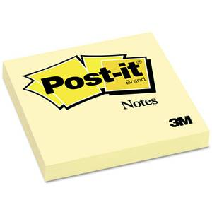 Post-It Pad 3X3 Yellow 100Sht (Single)