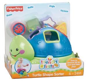 N1072 Fp Frndly 1Sts Turtle Shape Sorter