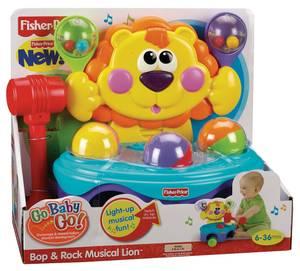 P8792 Fp Go Baby Go Bop & Rock Micidal Lion