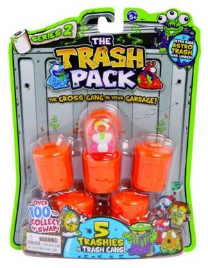 The Trash Pack - 5Pk S2