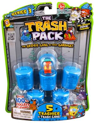 The Trash Pack - 5Pk S3