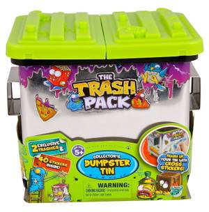 The Trash Pack - Dumpster Tin