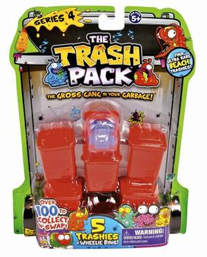 The Trash Pack - 5Pk S4