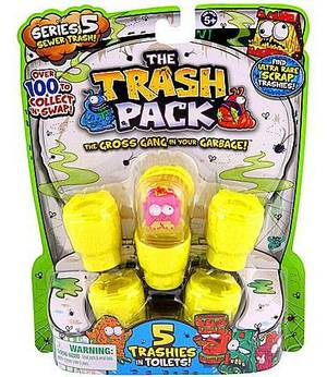 Trash Pack - 5Pk S5