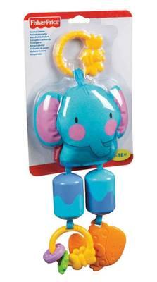 Y1576 Fp Stroller Toys - Elephant Stroller Chimes