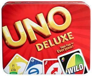 Y5206 Games - Uno Deluxe Game Tin Pack.