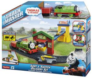 Bhy57 Fp Thomas & Friends - Mail Depot Delivery Set