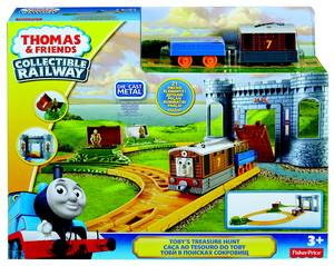 Bmf07 Fp Thomas & Friends - Toby'S Treasure Hunt