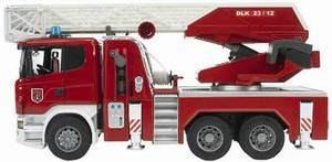 Bruder Scania R-Serie Fire Engine with Water Pump and L and S Module