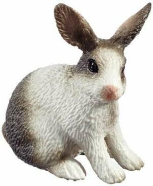 Schleich Sitting Rabbit Toy Figure
