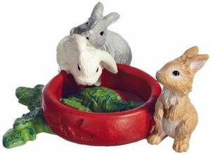Schleich Baby Rabbits Toy Figure