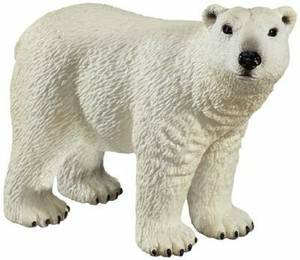 Schleich Polar Bear Toy Figure