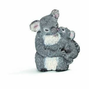Schleich Koala Bear with Cub Toy Figure