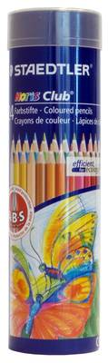 24 Colour Pencil Cylinder(Dis 25)
