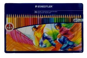 Noris Colouring Pencils 145 SPM36 Sport Design Tin 36