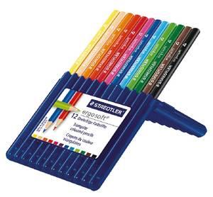 St-157-Sb12 Ergosoft Colourd Pencil St=12C