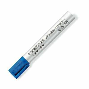 Staedtler Lumocolor Whiteboard Marker Dry-safe Bullet Tip 2mm Line Blue Ref 351-3