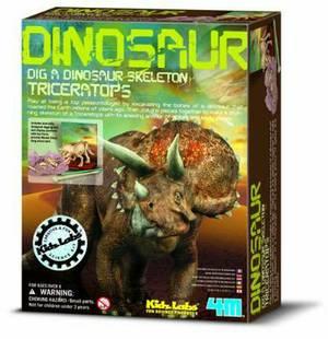 4M Kidz Labs Dig a Dinosaur Triceratops