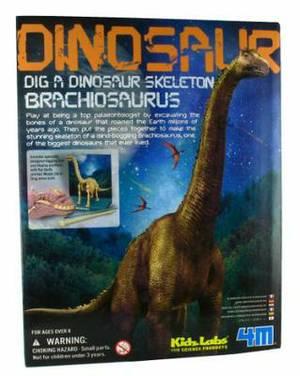 4M Kidz Labs Dig A Dino Skeleton Brachiosaurus