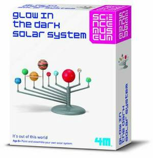 Build Your Own Glow in the Dark Solar System