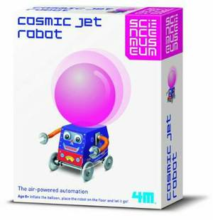 4M Kidz Labs Balloon Powered Cosmic Jet Robot