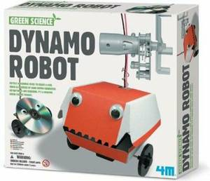 Great Gizmos Green Science Dynamo Robot