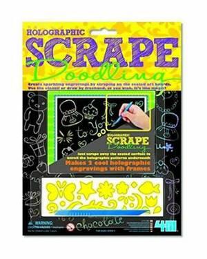 4M Holographic Scrape Doodling
