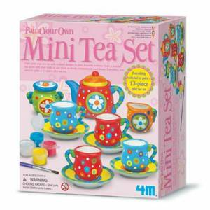 Tea Set Painting Kit, 13-piece