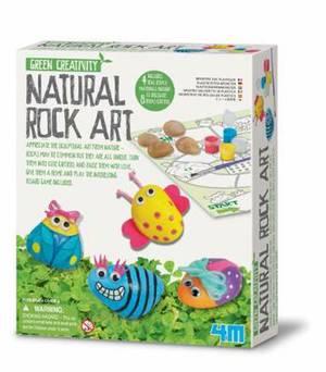 4M Green Creativity Natural Rock Art