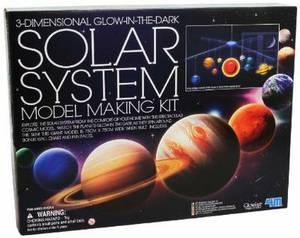 Solar System Mobile Making Kit (3-dimensional Glow in the Dark)