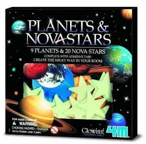 Glow Planets & Nova Stars