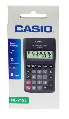 Electronic Calculator Hl815Lbk