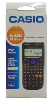 Fx-82es Fx82es Plus Bk Display Scientific Calculations Calculator with 252 Functions