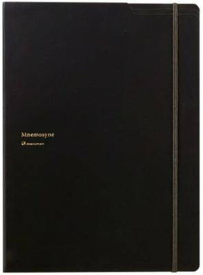 """Maruman Mnemosyne Notepad Holder with 5 Pockets Notepad - A4 (8.3"""" X 11.7"""") - 5 mm X 5 mm Graph - 70 Sheets (japan import)"""