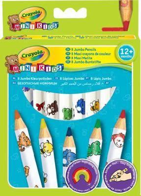 Crayola Beginnings Jumbo Decorated Pencils (8 Pack)