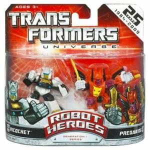 Transformers Universe Robot Heroes - Beast Wars - Tigatron Vs. Inferno
