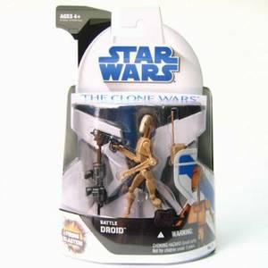 Magrudy com - Star Wars 3 75 Clone Wars Basic Figure:Battle